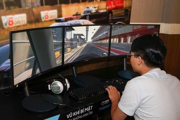 Game thủ sẽ không còn lo hiện tượng giật lag khi chơi game trên màn hình máy tính cong CFG70