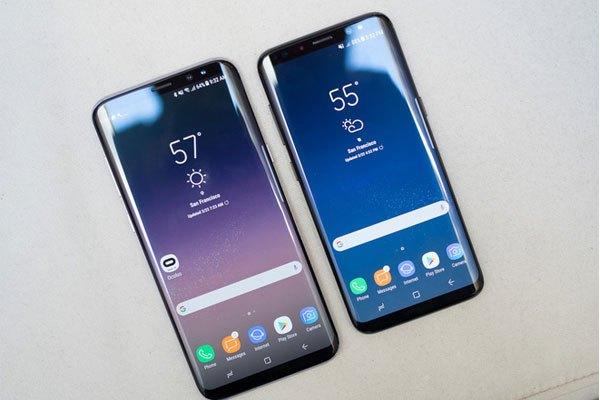 Màn hình vô cực vẫn được ứng dụng trên bộ đôi điện thoại Galaxy 9 và 9 Plus