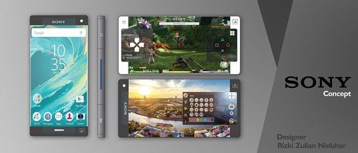 Điện thoại Sony Xperia Play X – mẫu thiết kế của Rizki Zulian Nisfuhar sẽ biến ước mơ của các game thủ thành sự thật