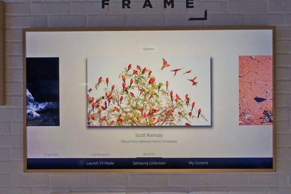 """""""Art Mode"""" đã làm nên sự khác biệt cho tivi The Frame"""