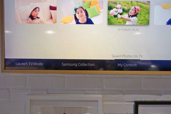 Cửa hàng tác phẩm của Samsung cũng được giới thiệu trong tivi The Frame với hơn 300 bức họa và công ty cũng đang tiếp tục đàm phán với nhiều bảo tàng để được phép thêm vào nhiều hơn.
