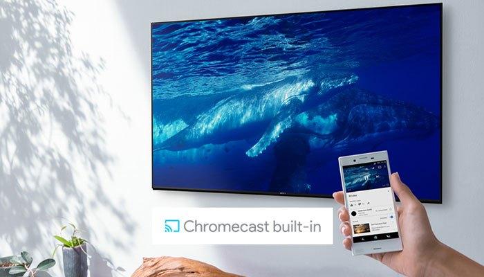 Tính năng này có thể hỗ trợ chiếu cả các video độ phân giải 4K lên các dòng tivi 4K của Sony.