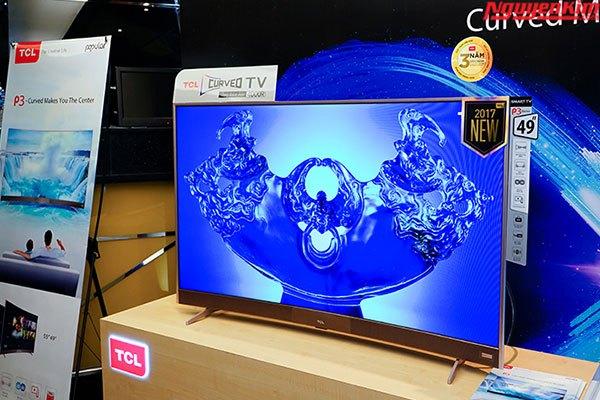 Và đây là phiên bản 49 inch của tivi TCL P3
