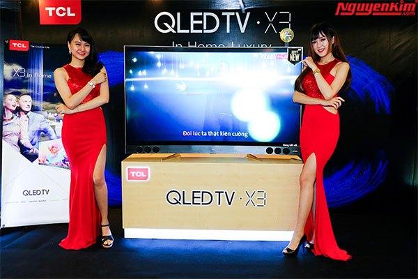 Sự kiện còn trình làng mẫu tivi cao cấp QLED X3