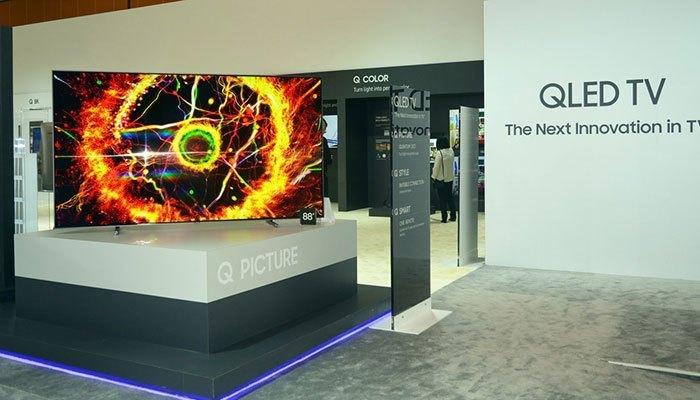 Tivi QLED công nghệ Quantum Dot của Samsung tại CES 2017