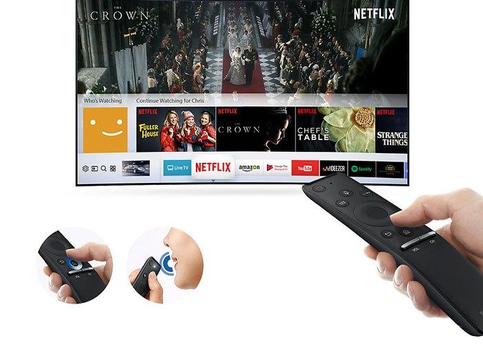 Tivi LED Samsung MU6300 trang bị One Remote cho bạn điều khiển dễ dàng hơn