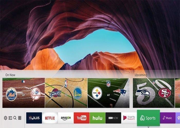 Kho ứng dụng phong phú của tivi LED Samsung MU6300