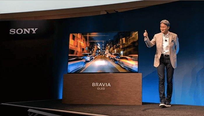 Dòng BRAVIA OLED A1 sở hữu hệ thống loa Acoustic Surface ấn tượng