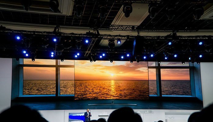Tivi QLED Samsung với Quantum Dot hứa hẹn sẽ là đối thủ đáng gườm cho các hãng khác