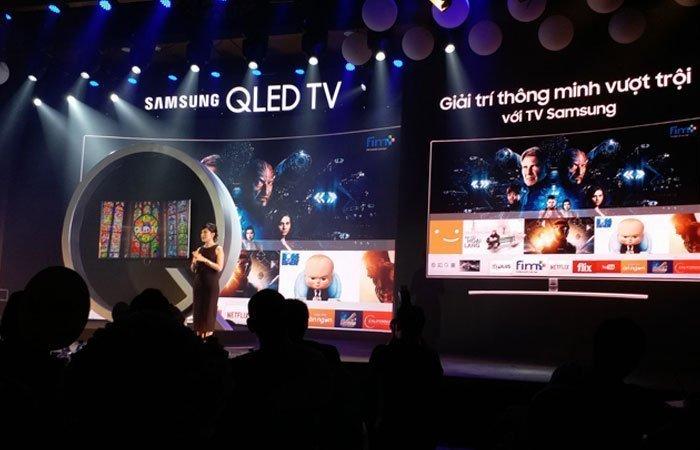 Samsung đã chính thức trình làng dòng tivi QLED tại Việt Nam