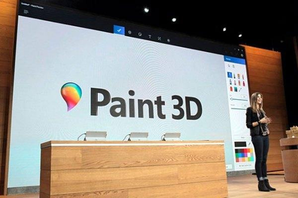 """Ra mắt vào năm trước, Paint 3D được xem là phiên bản """"bình cũ rượu mới"""" của Paint"""