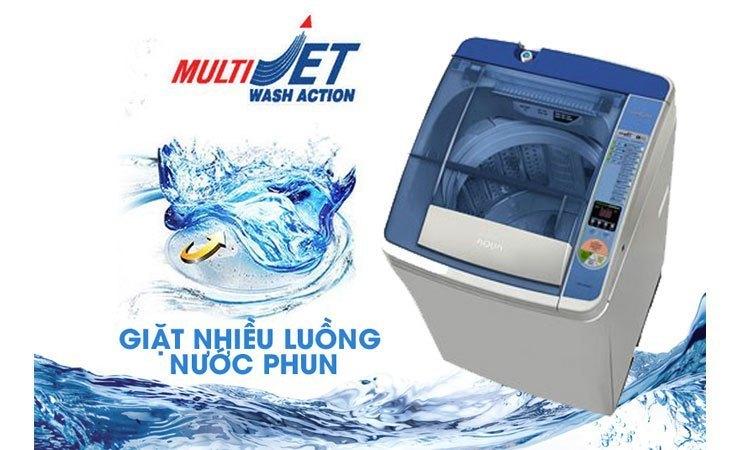 Máy giặt Aqua AQW-D900AT (S) đánh bay các vết bẩn cứng đầu