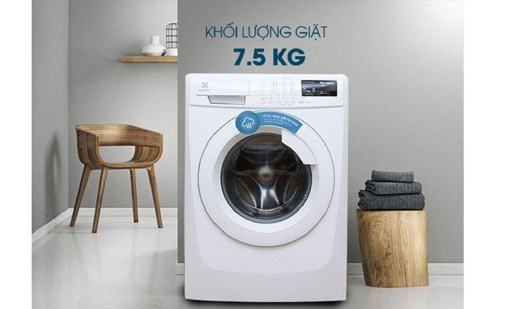 Máy giặt Electrolux EWF85743 cửa trước sang trọng và tiện lợi