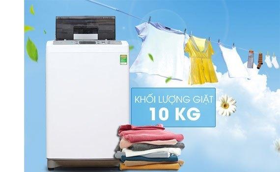 Máy giặt Hitachi SF-100XAV 220-VT (WH) khối lượng giặt 10 kg