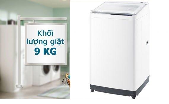 Máy giặt Hitachi SF-90XA-VT (W) khối lượng giặt 9 kg