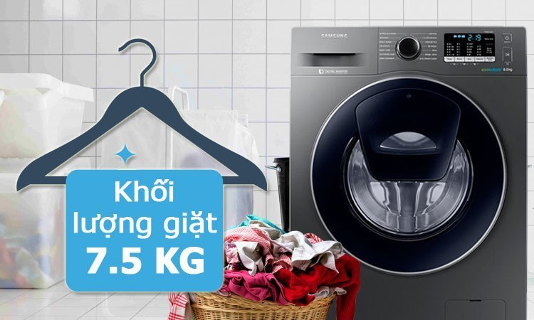 Máy Giặt Samsung 75 Kg Ww75k5210us Giảm Giá Tại Nguyễn Kim