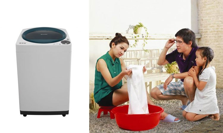 Máy giặt Sharp ES-U82GV-G sự lựa chọn hoàn hảo cho gia đình 3-5 thành viên