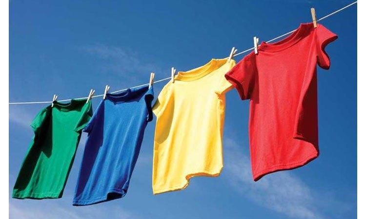 Máy giặt Sharp ES-U82GV-G tiết kiệm thời gian phơi khô áo quần