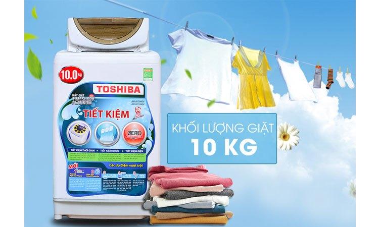 Máy giặt Toshiba AW-B1100GV(WD) khối lượng giặt 10 kg