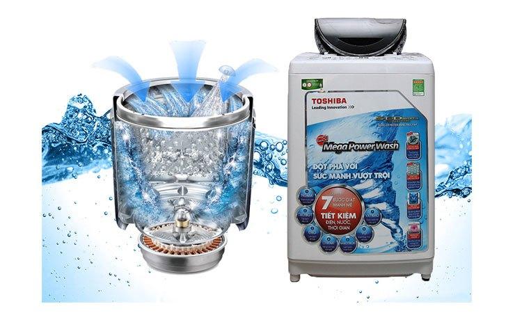 Máy giặt Toshiba AW-DC1300WV (W) tiết kiệm điện hiệu quả