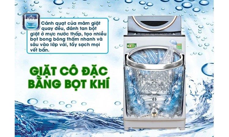Máy giặt Toshiba AW-DME1200GV (WK) đánh bay mọi vết bẩn cứng đầu
