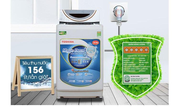 Máy giặt Toshiba AW-ME1050GV (WD) tiết kiệm điện
