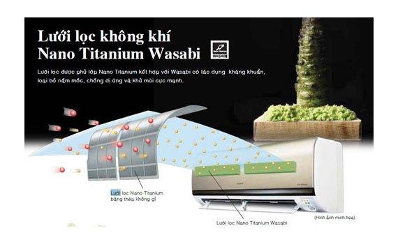 Máy lạnh Hitachi RAS-X13CD 1.5 HP kháng khuẩn khử mùi hiệu quả