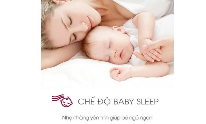 Máy lạnh Sharp Inverter 1.5 HP AH-X12XEW chế độ Baby Sleep