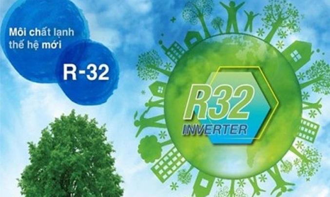 Máy lạnh Sharp Inverter 1.5 HP AH-X12XEW làm lạnh R32 thân thiện với môi trường
