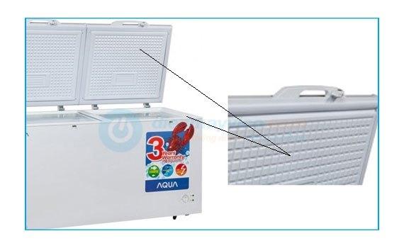 Tủ đông Aqua AQF-R320 thiết kế nhiều tiện ích khi sử dụng