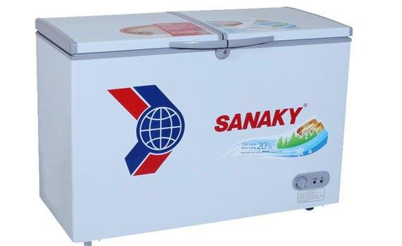 Tủ đông Sanaky VH-5699W1 có ngăn đông và ngăn lạnh