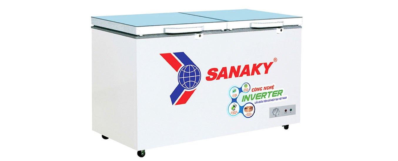 Tủ đông Sanaky Inverter 270 lít VH-3699A4K thiết kế chất lượng