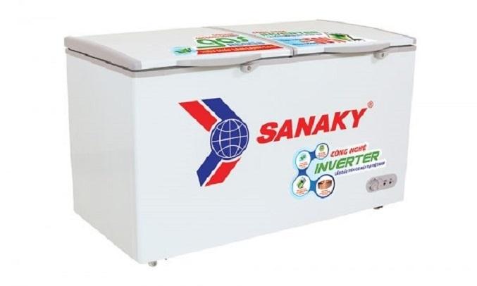 Tủ đông Sanaky Inverter 305 lít VH-4099A3 Dễ dàng di chuyển