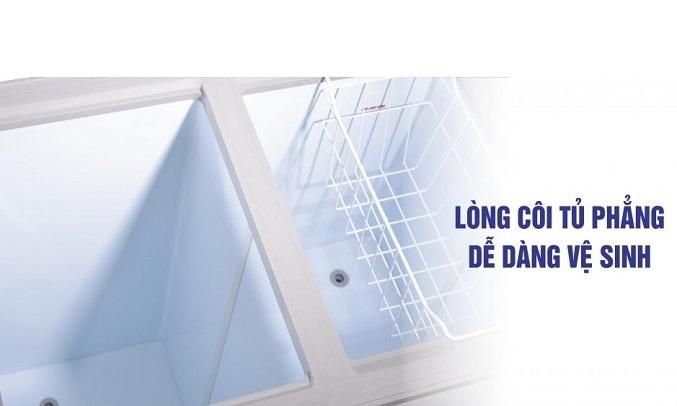 Tủ đông Sanaky Inverter 305 lít VH-4099A3 Dễ dàng vệ sinh