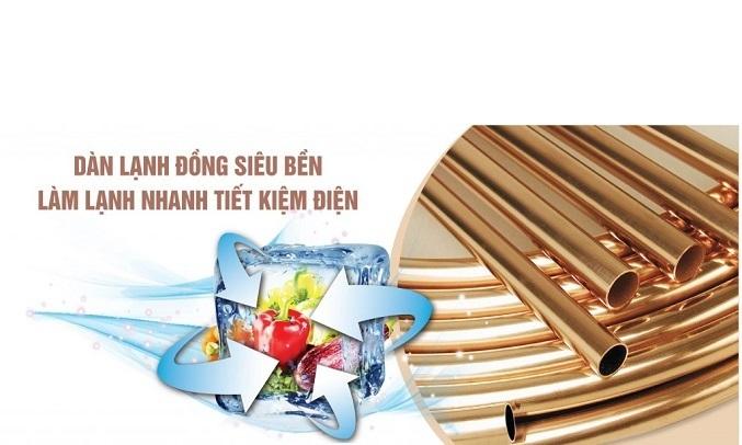 Tủ đông Sanaky Inverter 305 lít VH-4099A3 làm lạnh nhanh