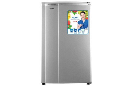 Tủ lạnh Aqua AQR-95AR (SS) kiểu dáng mini gọn gàng
