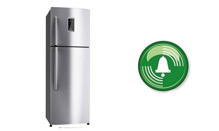 Tủ lạnh Electrolux ETE3500SE-RVN lắp đặt chuông báo cửa thông minh