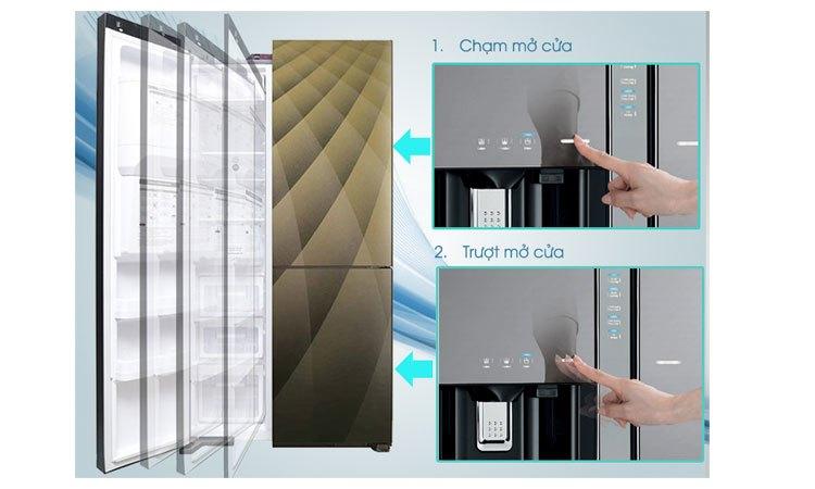 Tủ lạnh Hitachi R-M700AGPGV4X (DIA) thiết kế hiện đại, đẳng cấp
