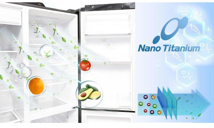 Tủ lạnh Hitachi R-M700AGPGV4X (DIA) không bám mùi thực phẩm sống