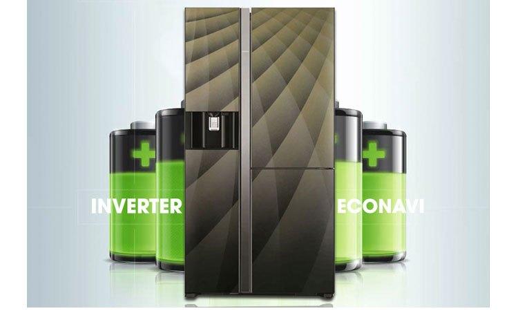 Tủ lạnh Hitachi R-M700AGPGV4X (DIA) tiết kiệm điện