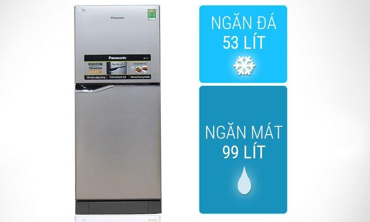 Tủ lạnh Panasonic NR-BA178VSVN 152 lít bán trả góp 0% tại nguyenkim.com