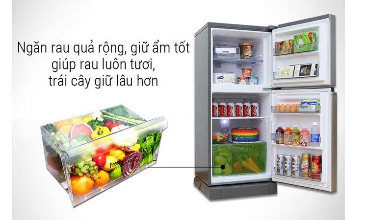 Tủ lạnh Panasonic NR-BA178VSVN 152 lít ngăn rau quả giữ ẩm tốt