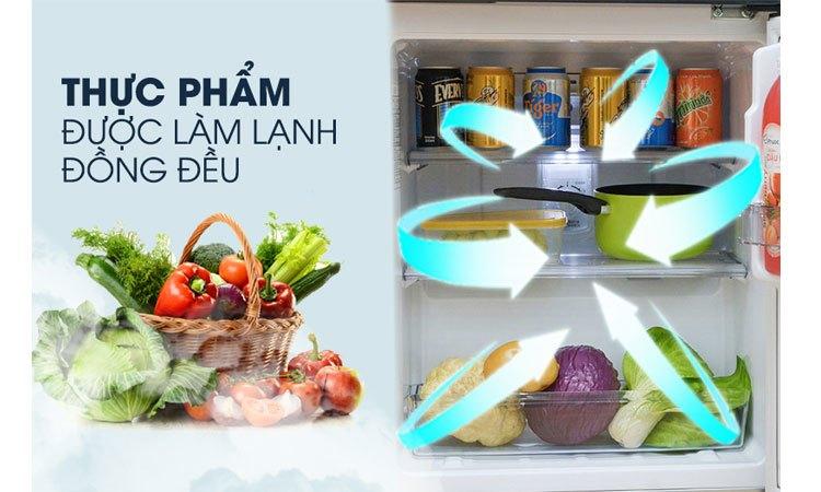 Tủ lạnh Panasonic NR-BJ158SSVN bảo quản thực phẩm tươi ngon hơn