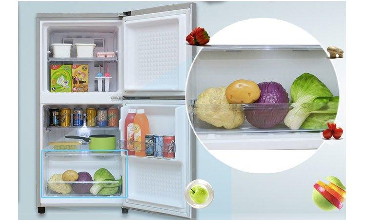 Tủ lạnh Panasonic NR-BJ158SSVN rau quả tươi xanh, ngon mát