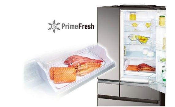 Tủ lạnh Panasonic NR-F510GT-X2 thịt cá tươi ngon