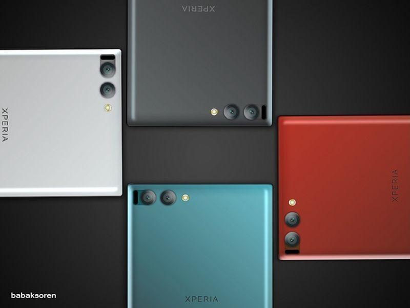 Điện thoại Xperia XZ Premium có bốn phiên bản màu cá tính