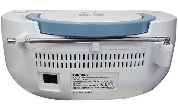 Cassette Toshiba TY-CWU11 sử dụng được với pin