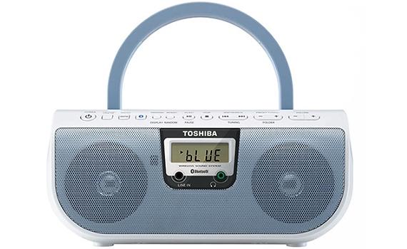 Cassette Toshiba TY-CWU11 có hệ thống loa 2.0