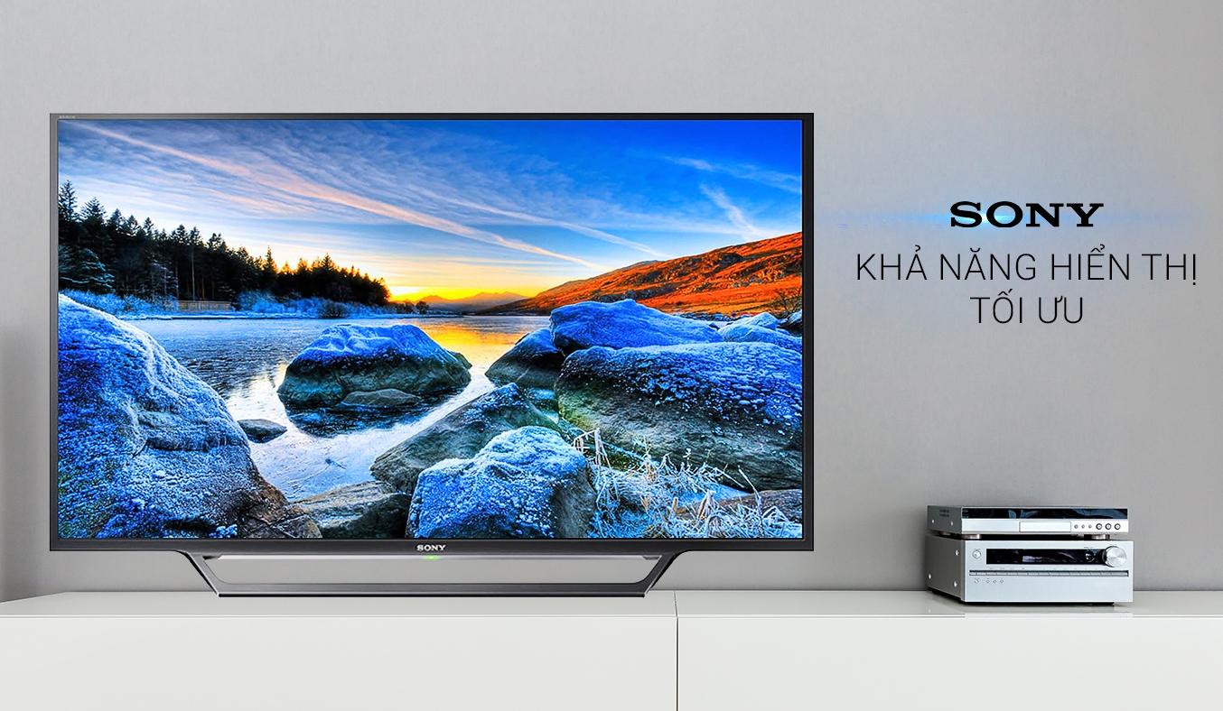 Tivi LCD Sony KDL-32W600D hình ảnh chân thật