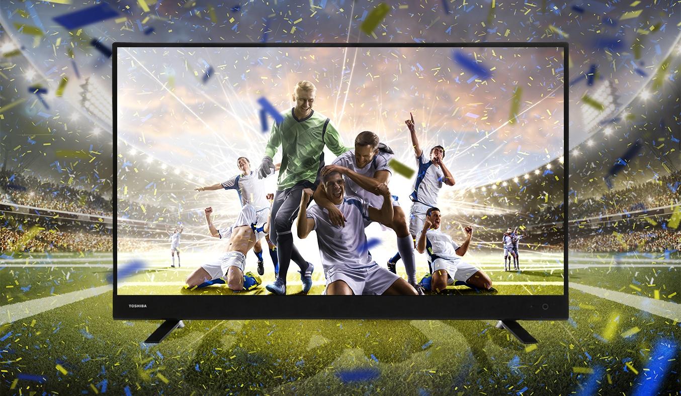 Tivi LED Toshiba 32 inch 32L3750VN hình ảnh sống động